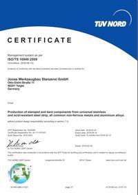 ISO/TS 16949 EN