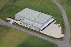 Luftbild vom Neubau