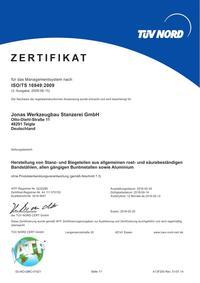ISO/TS 16949 DE