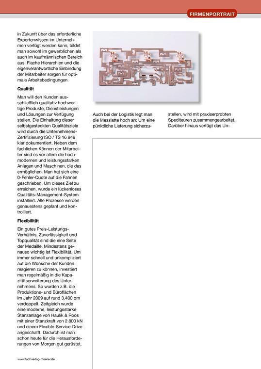 Schnitt- und Stanzwerkzeugbau 2011
