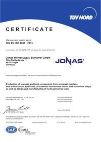 DIN EN ISO 9001 : 2015 EN