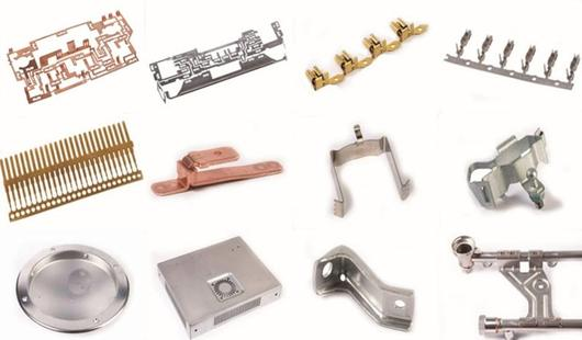 Stamping and bending parts